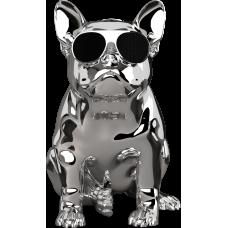 Портативная беспроводная колонка AEROSYSTEM Aerobull XS1 Chrome silver