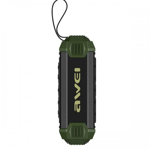 Портативная колонка Awei Y280 (зеленый)