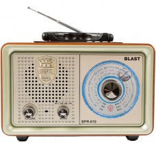 Радиоприемник BLAST BPR-610 (золотой)