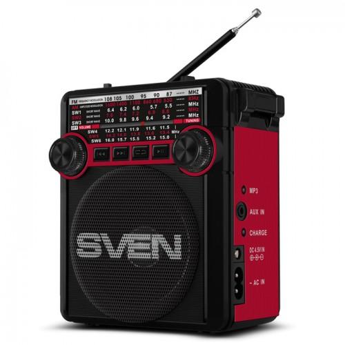 Радиоприемник SVEN SRP-355 (черно-красный)