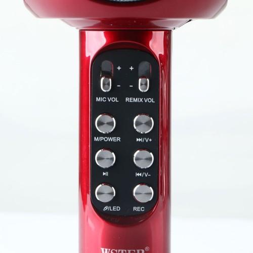 Микрофон Wster WS-1816 (красный)